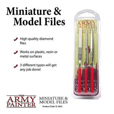 Miniature and Model Files (Feilen) 3er Set