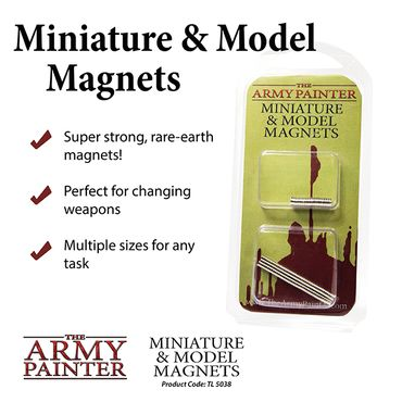 Miniature Model Neodym Magnets 80x 3x1mm und 20x 5x1mm