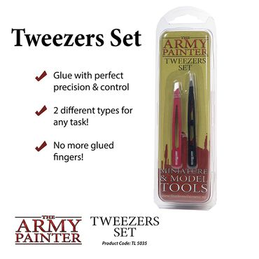 Tweezers Set (2 Pinzetten)
