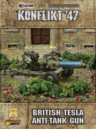 Konflikt 47 British Tesla AT gun