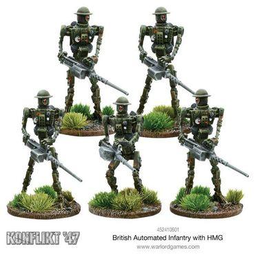 Konflikt 47 British Automated Infantry with HMG – Bild 2