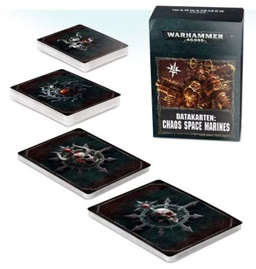 Chaos Space Marines Datakarten 2 (Deutsch)