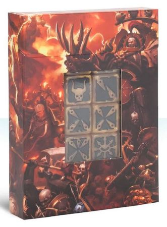 Chaos Space Marines Dice Set (20)