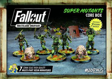 Fallout Wasteland Warfare Super Mutants Core Box (Englisch)