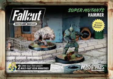 Fallout Wasteland Warfare Super Mutants Hammer (Englisch)