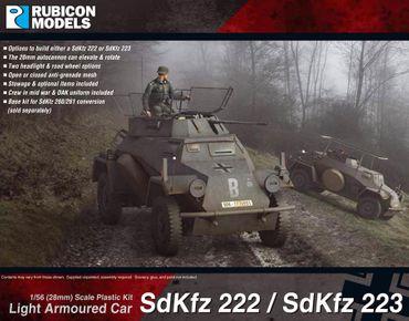 Sd.Kfz. 222 / 223 Light Armoured Car 1/56 28mm