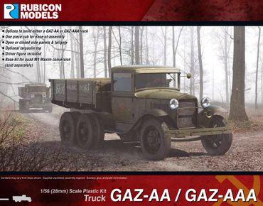 GAZ-AA / GAZ-AAA Truck 1/56 28mm