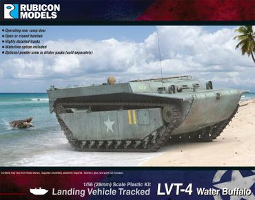 LVT-4 Water Buffalo Landing Vehicle Tracked 1/56 28mm