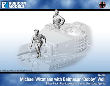 "Michael Wittmann and Balthazar ""Bobby"" Woll 1/56 28mm"