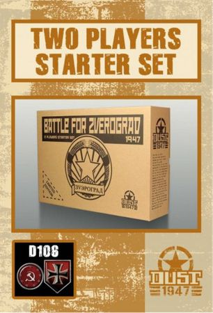 Dust 1947 Battle for Zverograd SSU vs Axis (2 Player Starter) Primed Edition