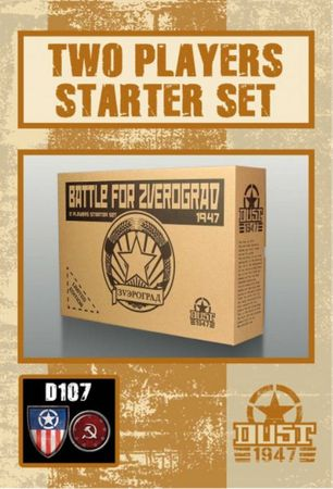Dust 1947 Battle for Zverograd Allies vs SSU (2 Player Starter) Primed Edition