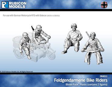 Feldgendarmerie Bike Crew 1/56 28mm