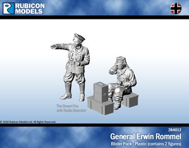 General Erwin Rommel 1/56 28mm