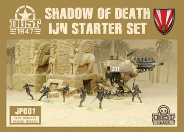 Dust 1947 Shadow of Death IJN Starter Set Primed Edition