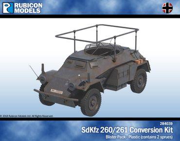 Sd.Kfz. 260 / 261 Upgrade Kit 1/56 28mm