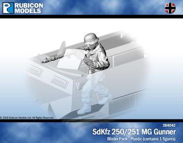 Sd.Kfz. 250 / 251 MG Gunner 1/56 28mm