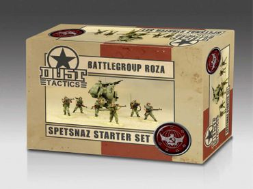 Dust 1947 Battlegroup Roza Spetsnaz Starter Set Primed Edition