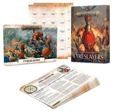 Fyreslayers Warscroll Cards (Deutsch)