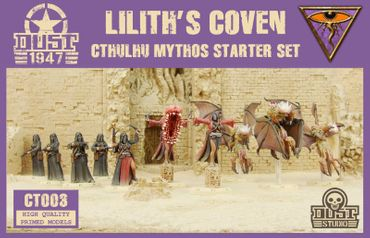 Dust 1947 Lilith's Coven Cthulhu Mythos Starter Set Primed Edition