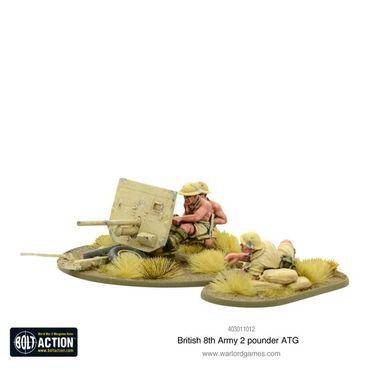 British 8th Army 2 pounder ATG 28mm