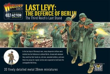 German Last Levy the Defence of Berlin 28mm