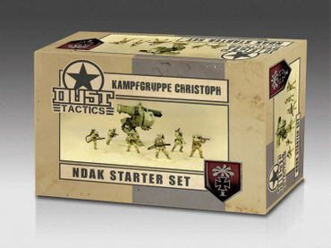 Dust 1947 Kampfgruppe Christoph NDAK Starter Set Primed Edition