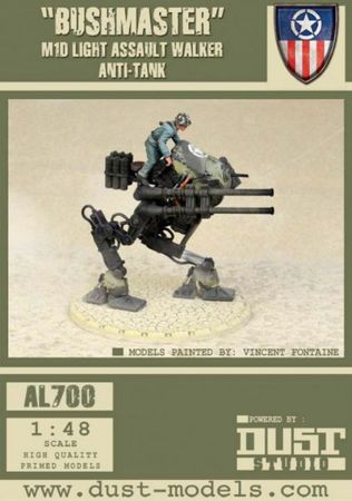 Dust 1947 Allied USMC Light Walkers Pack Primed Edition