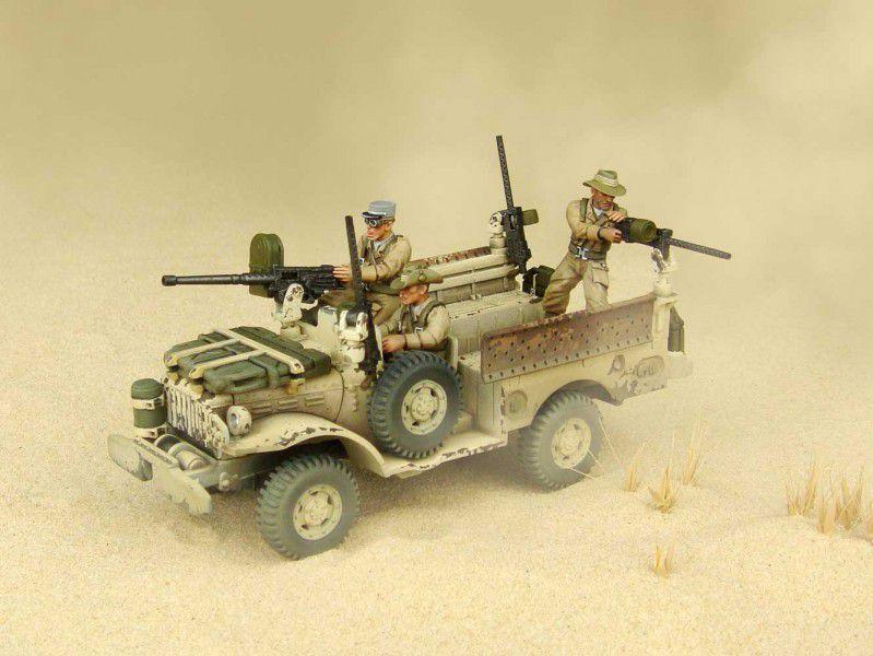 DUST 1947 Dodge 4x4 Light Command//Gun//Transport Truck