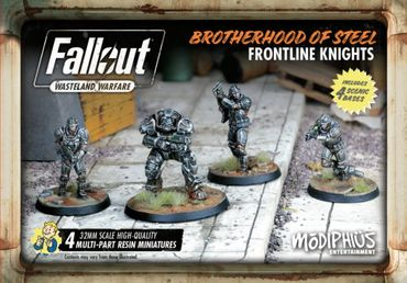 Fallout Wasteland Warfare Brotherhood of Steel Frontline Knights (Englisch)