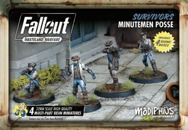 Fallout Wasteland Warfare Survivors Minutemen Posse (Englisch)