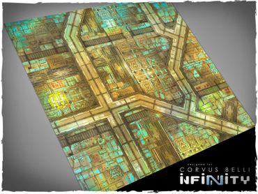 Deep Cut Studio Wargames Terrain Mat Yu Jing 4x4 Infinity