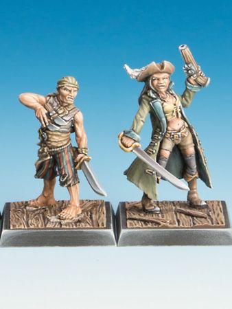 Piratin und Cuchillo