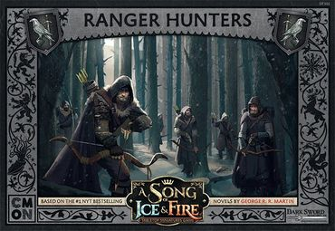 A Song Of Ice And Fire Night's Watch Ranger Hunters (DE/ES/FR/IT/CN/RU)