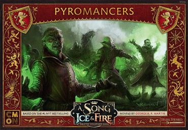 A Song Of Ice And Fire Lannister Pyromancers (DE/ES/FR/IT/CN/RU)