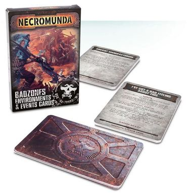 Necromunda Badzone Environments and Events Cards (Englisch)