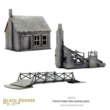 French Indian War Scenery Pack 28mm