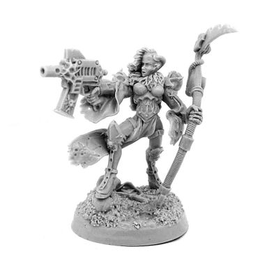 Chaos Renegade Sister With Scythe And Gun