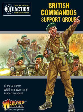 British Commandos Support Group 28mm