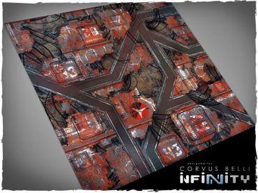 Deep Cut Studio Wargames Terrain Mat Nomads 4x4 Infinity