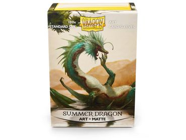 Dragon Shield Art Summer Dragon 100 protective Sleeves