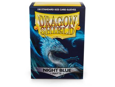 Dragon Shield Matte Night Blue 100 protective Sleeves