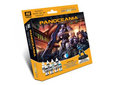 Model Color Set Infinity Panoceania Exclusive Miniature