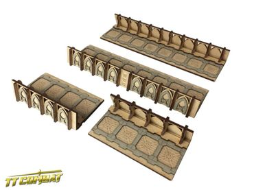 Fortified Trench Straight Sections 28mm