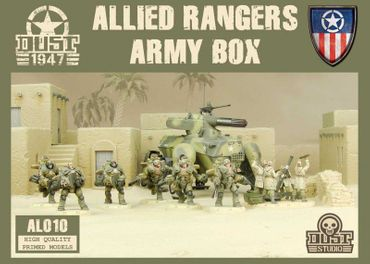 Dust 1947 Allied Rangers Army Box Primed Edition