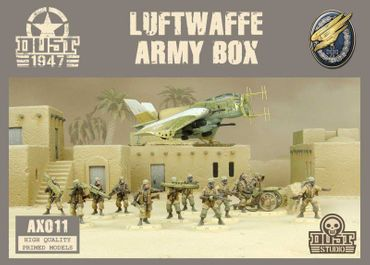 Dust 1947 Luftwaffe Army Box Primed Edition