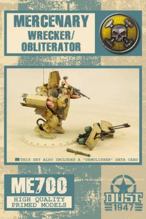 Dust 1947 Mercenary Wrecker / Demolisher / Obliterator Primed Edition