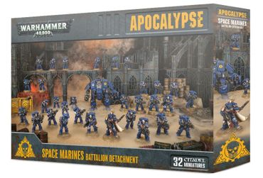 Apocalypse Space Marines Battalion Detachment