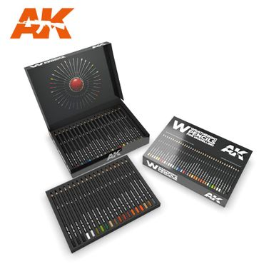 AK Interactive Weathering Pencils Deluxe Edition Box