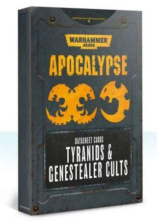 Apocalypse Datasheet Cards Tyranids & Genestealer Cults (Englisch)