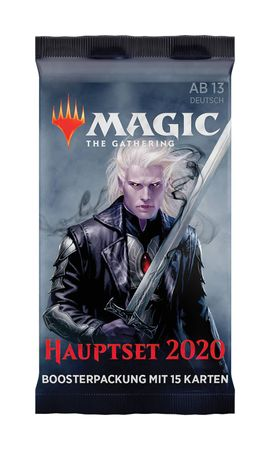 Magic Hauptset 2020 Boosterpackungen (Deutsch)
